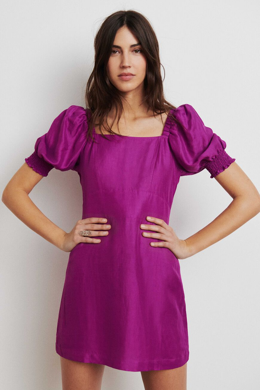 ROBE PALAIA ROBES COURTES VIOLET
