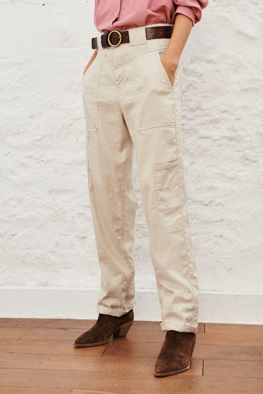 PANTALON CURIOUS JEANS NATUREL