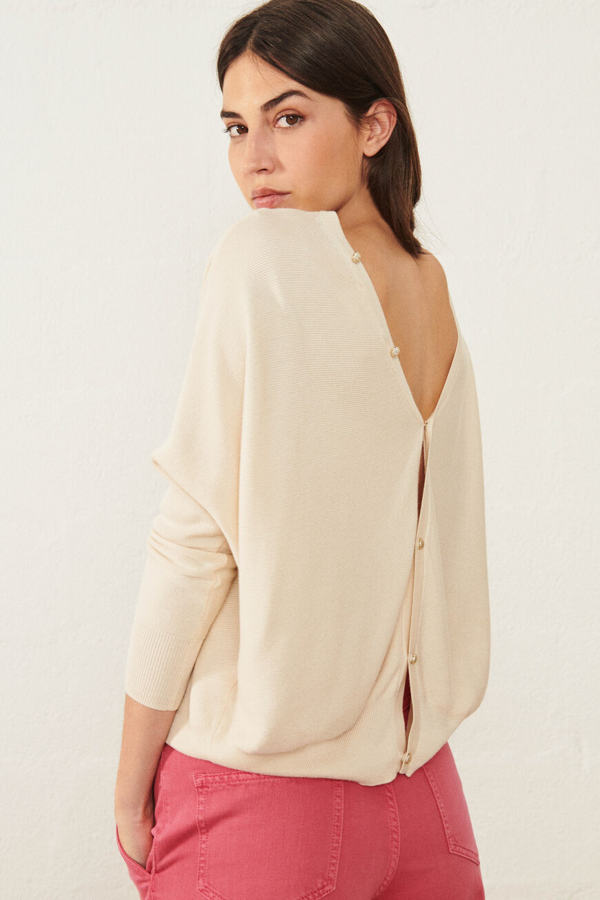 PULL ELSY Nouvelle Collection ECRU