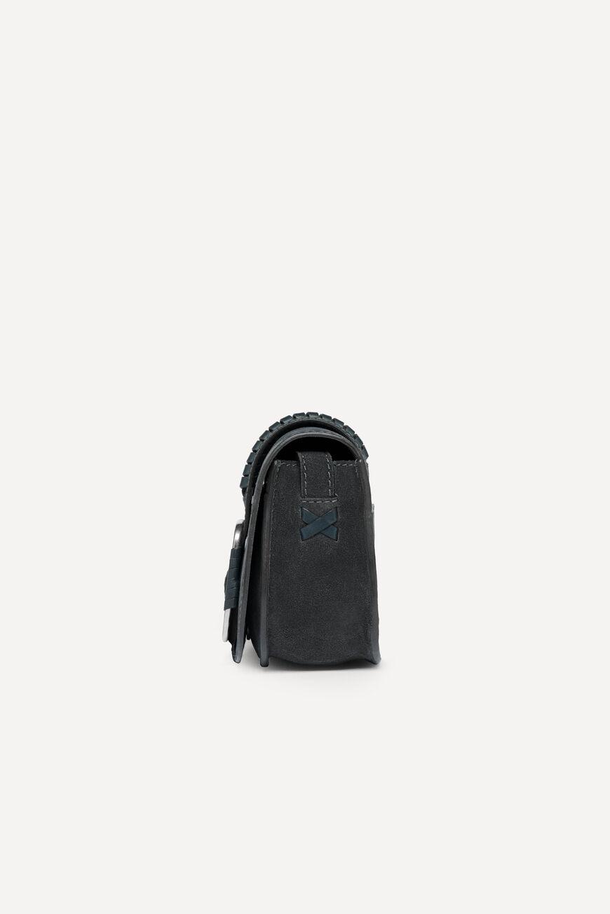 MINI-SAC TEDDY CROSSBODY BAGS CARBONE