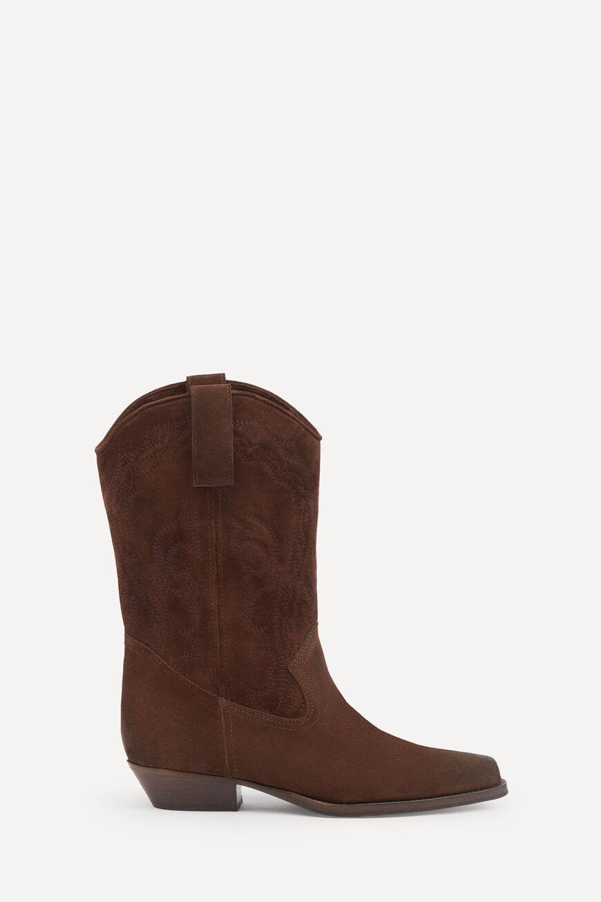 BOTTES SCRU BOOTS & BOTTINES MARRON