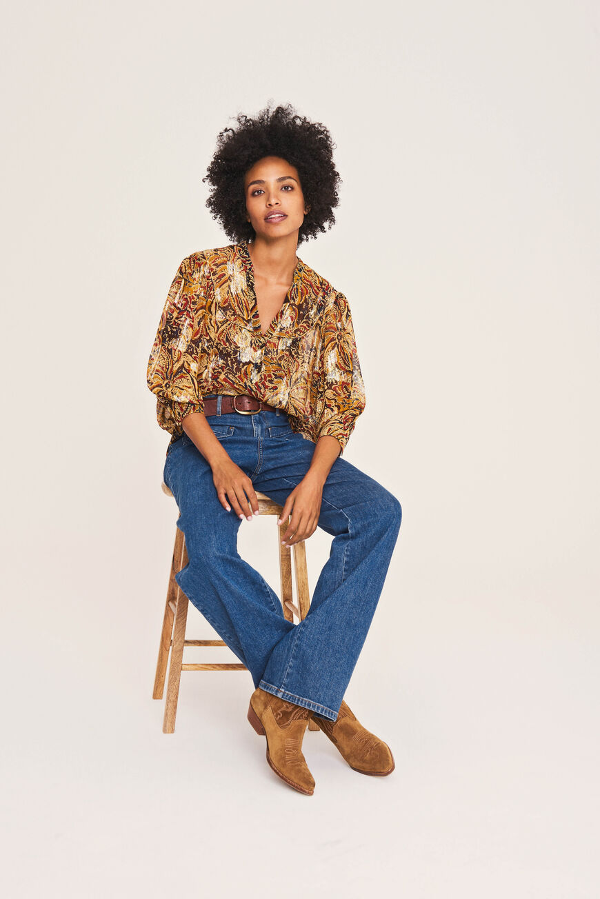 BLOUSE QUINCY CHEMISES OR