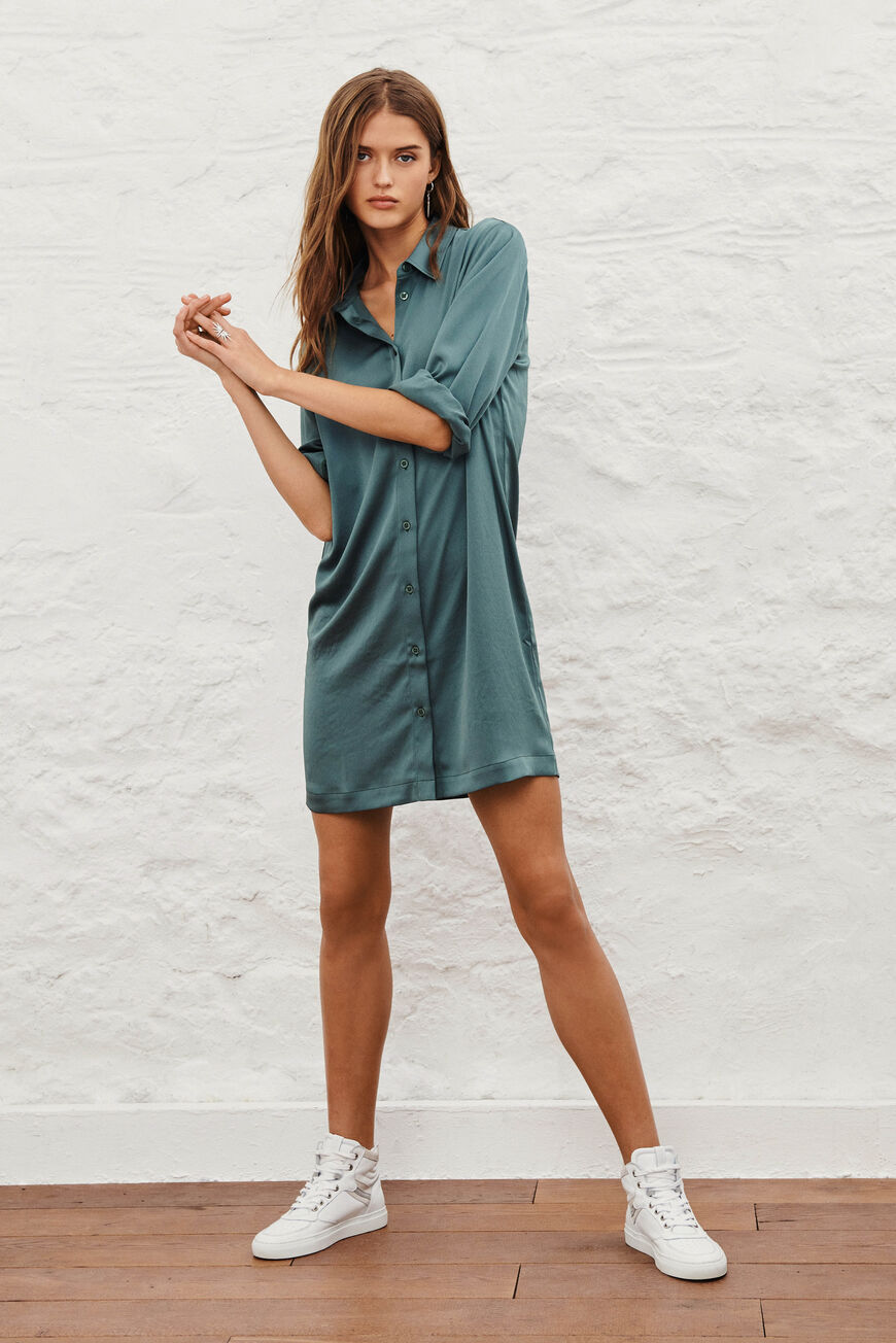 ROBE SWEET ROBES COURTES OLIVE