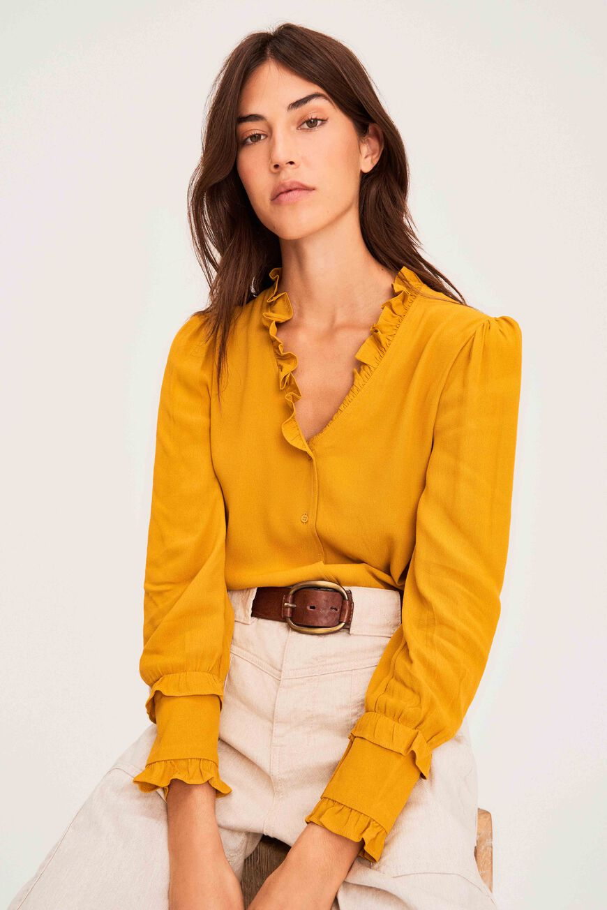 CHEMISE UNITY TOPS OCRE