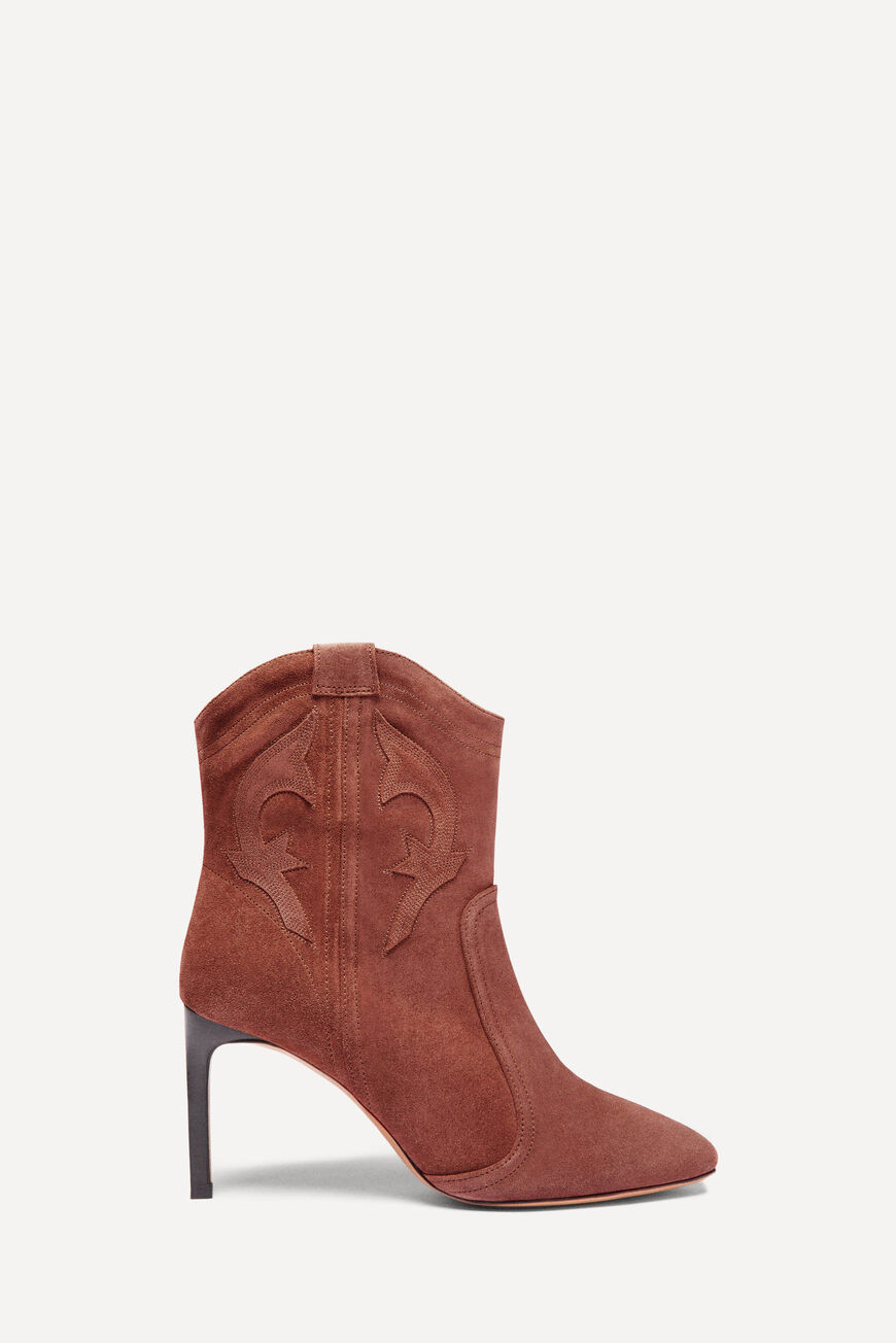 BOTTINES CAITLIN BOOTS & BOTTINES BRANDY