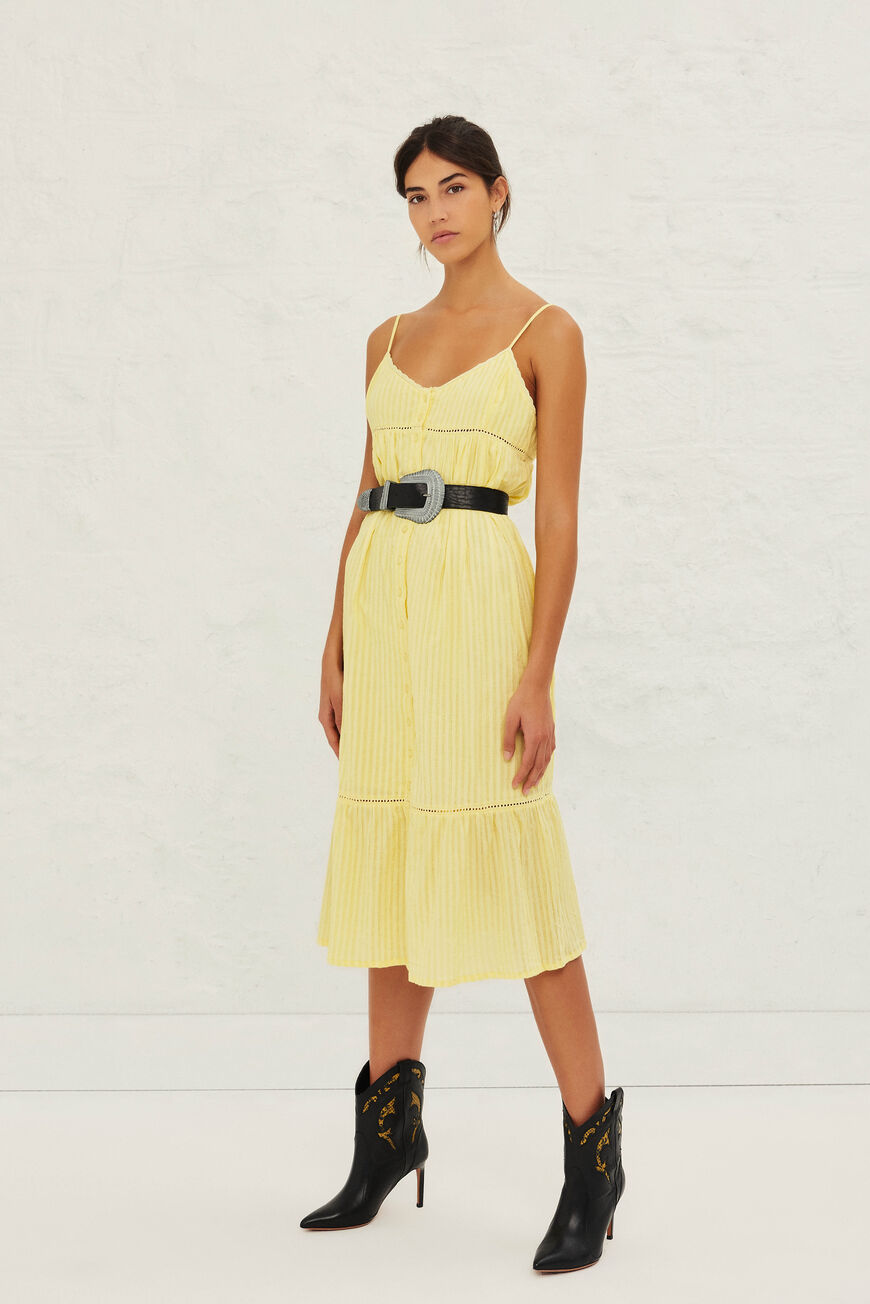 ROBE ULLY ROBES JAUNE
