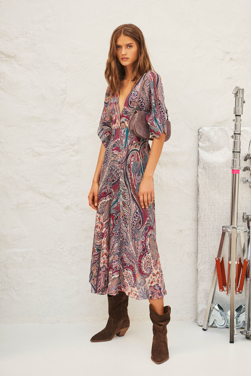 ROBE BEE ROBES LONGUES ROSE