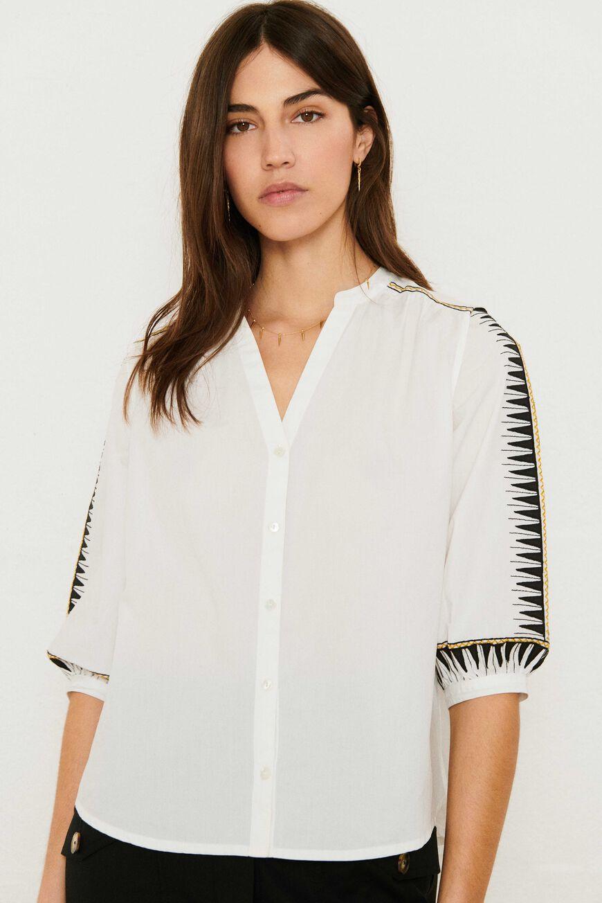 CHEMISE DIVINE tops & chemises BLANC