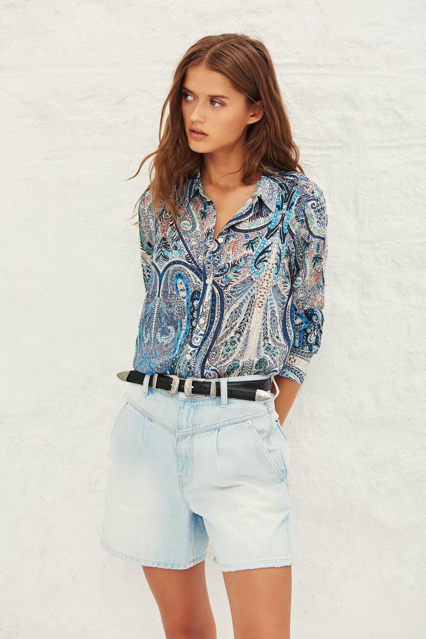 CHEMISE BLAKE tops & chemises BLEU