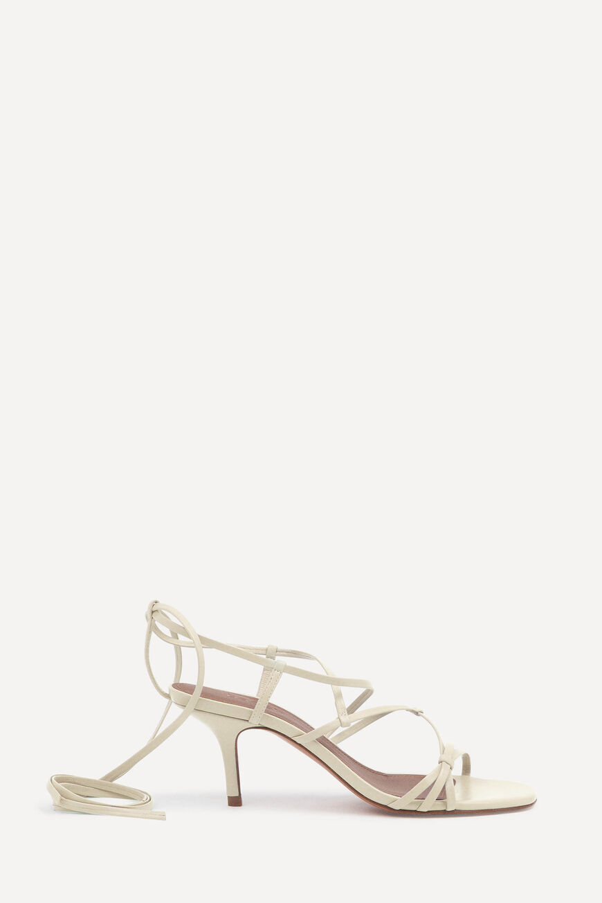 SANDALES CELLY ESCARPINS & SCANDALES OFFWHITE