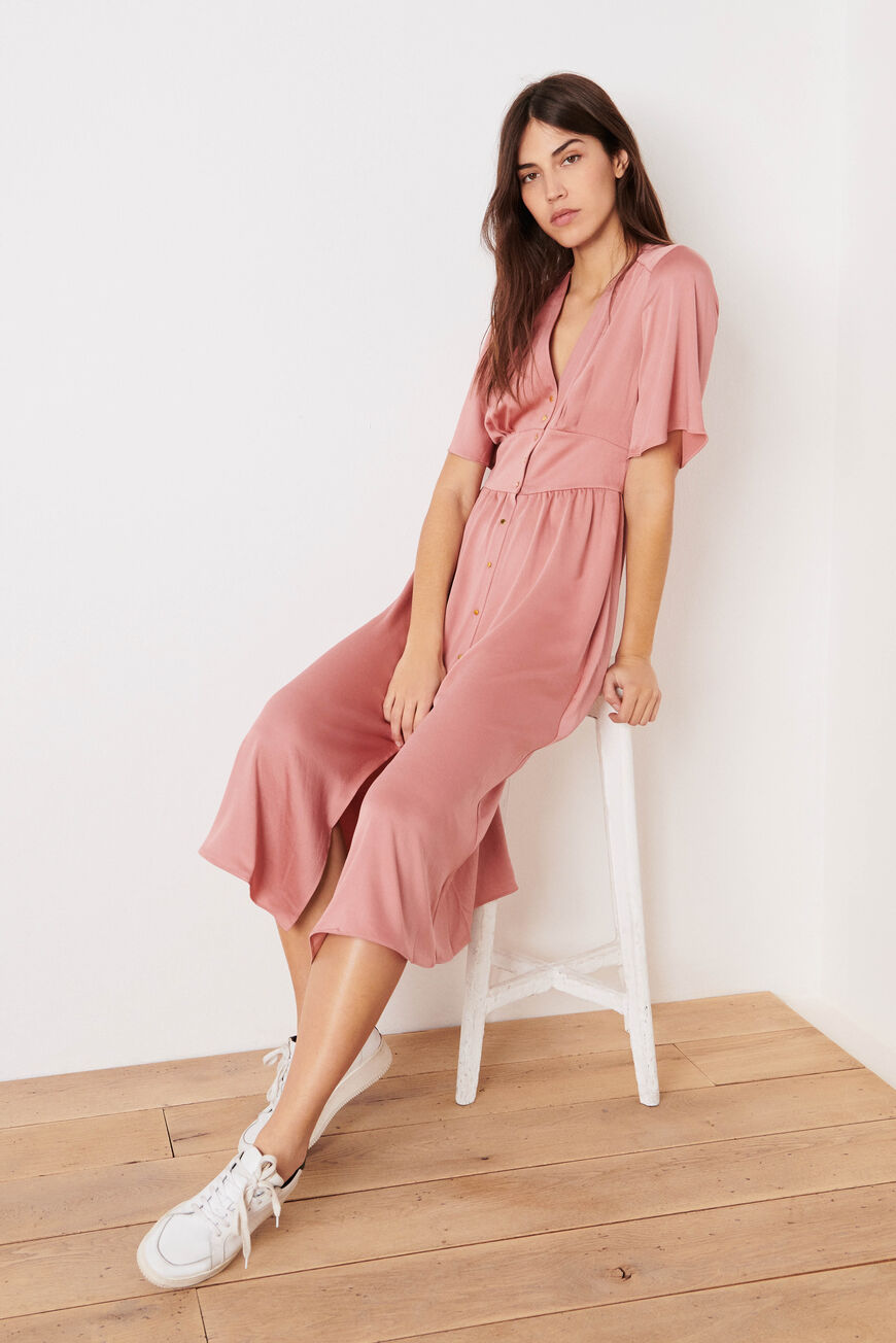 ROBE PAMELA ROBES MIDI GRENADINE