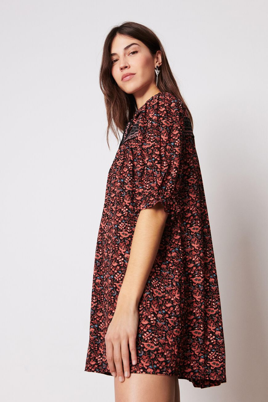 ROBE MUSE ROBES COURTES NOIR