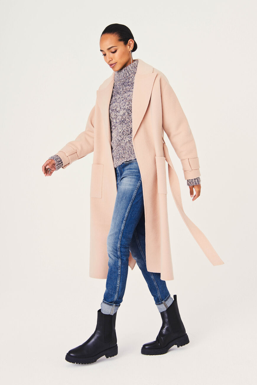 MANTEAU BONNY winter essentials BEIGE