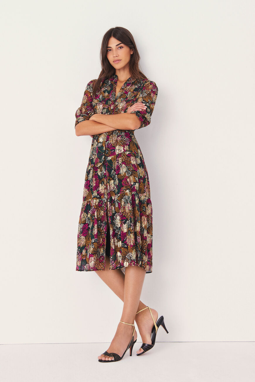 ROBE LOVE ROBES MIDI EMERAUDE
