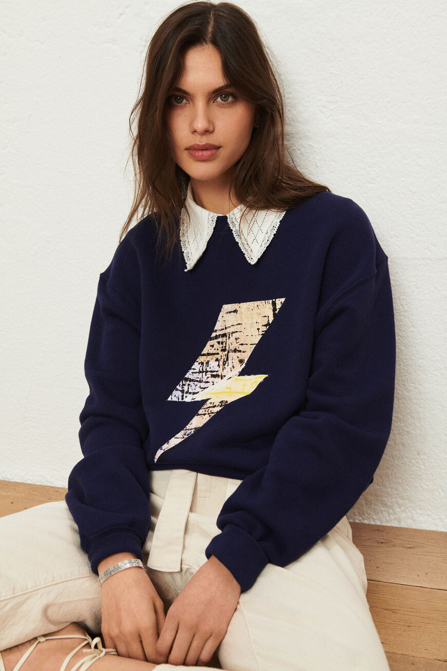 SWEAT EAST SWEATSHIRTS MARINE