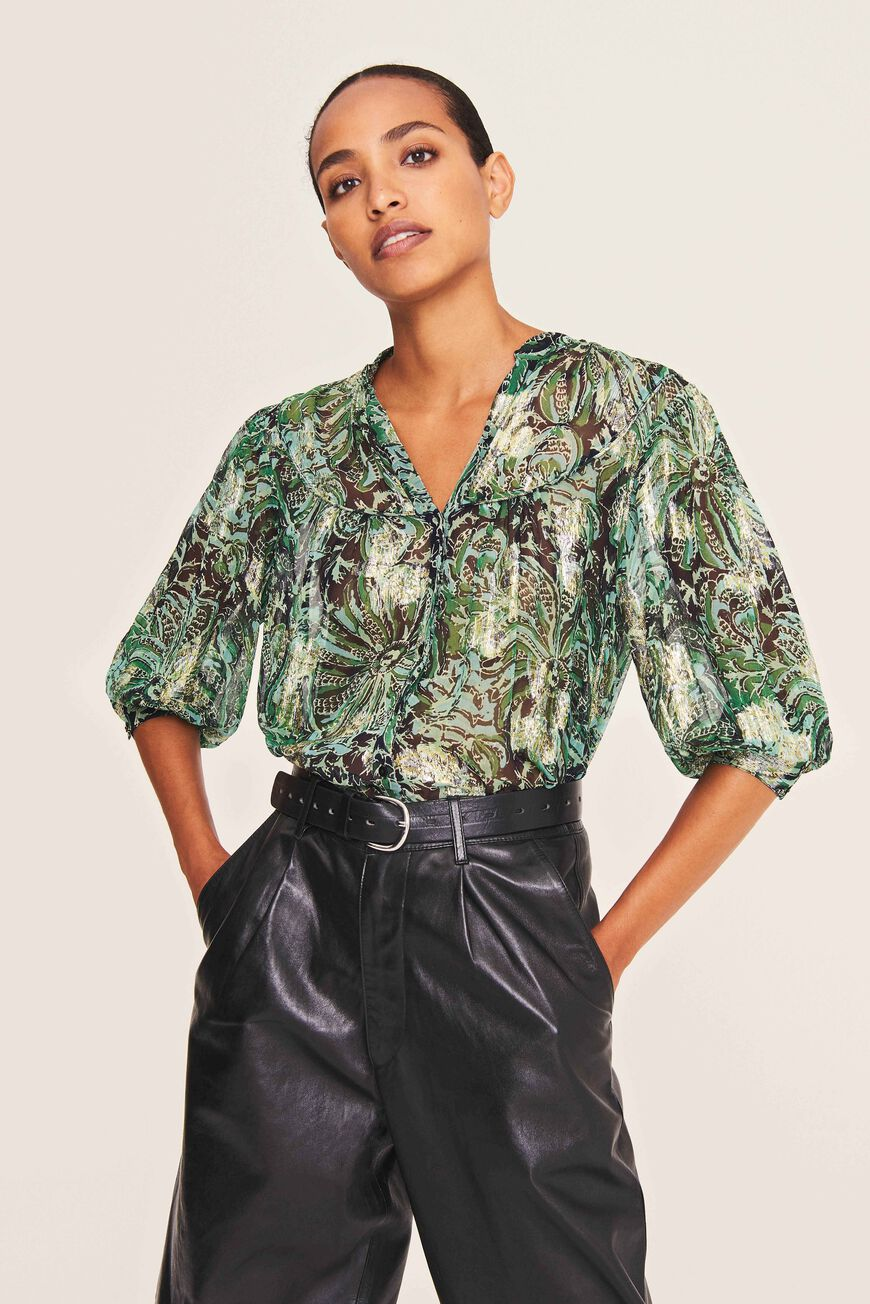 BLOUSE QUINCY TOPS