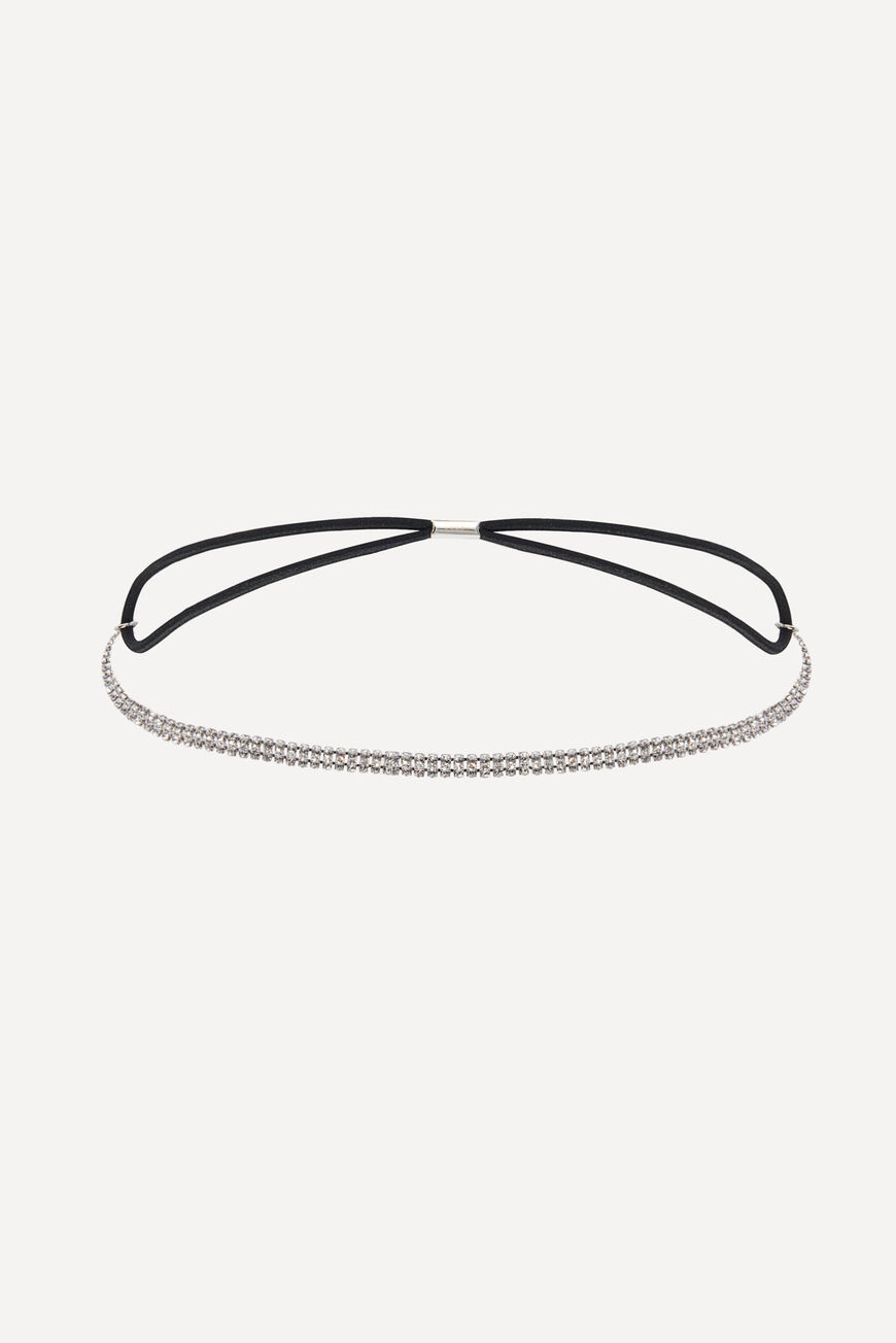 HAIRBAND HAILEY ACCESSOIRES CHEVEUX ARGENT