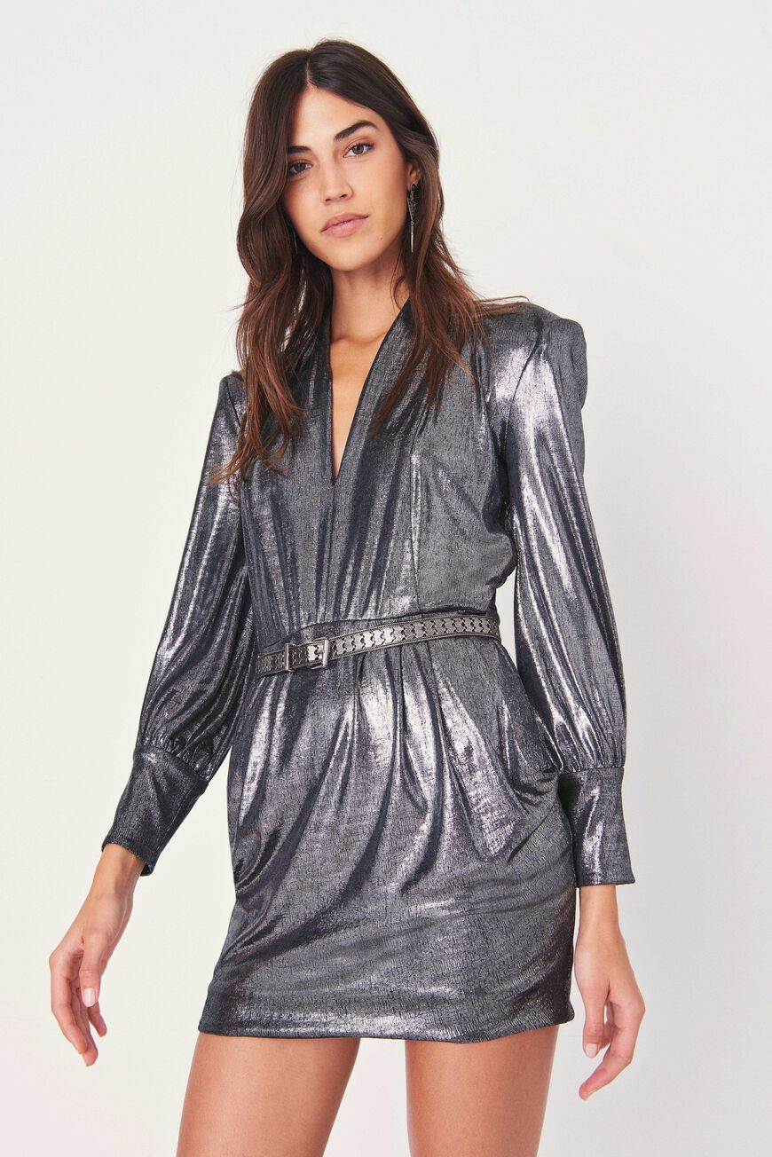 ROBE MISS ROBES COURTES SILVER