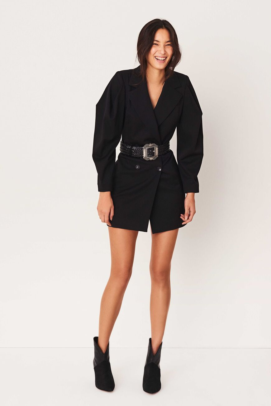 ROBE KARLY ROBES COURTES NOIR