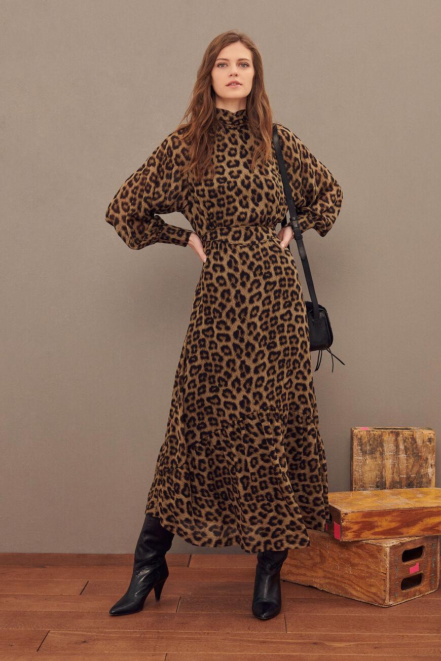 ROBE FARAH Robes LEOPARD