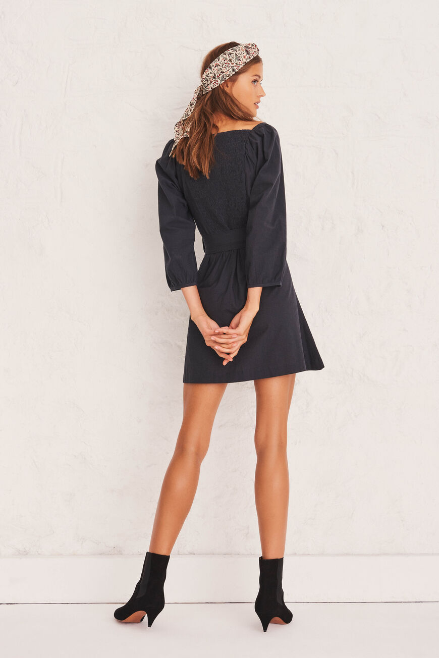 ROBE CYRIELLE ROBES COURTES CARBONE